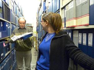 Archiver les archives courantes