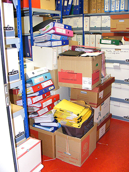 Stockage de documents