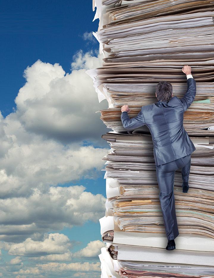 Archivage de documents d'entreprise